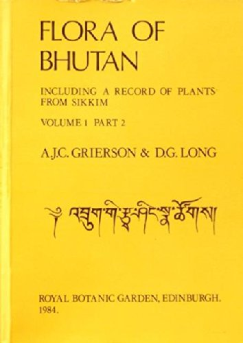 9780950427027: Flora of Bhutan