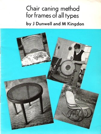 9780950537801: Chair Caning Method for Frames of All Types