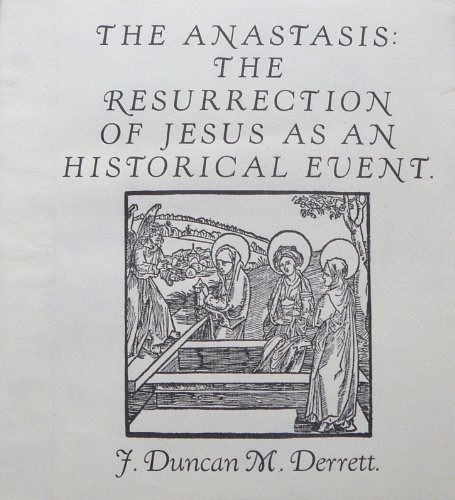 9780950575193: The Anastasis: Resurrection of Jesus as an Historical Event
