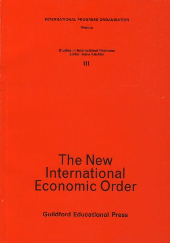 9780950638638: New International Economic Order: Philosophical and Socio-cultural Implications (Studies in international relations)