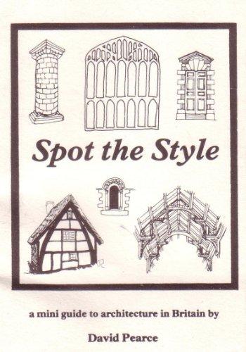 9780950640600: Spot the Style: Mini Guide to Architecture in Britain