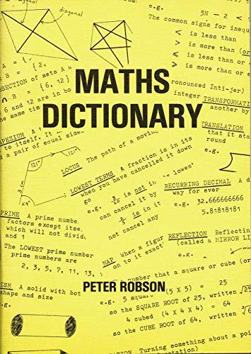 9780950641423: Maths Dictionary