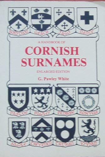 9780950643199: A handbook of Cornish surnames