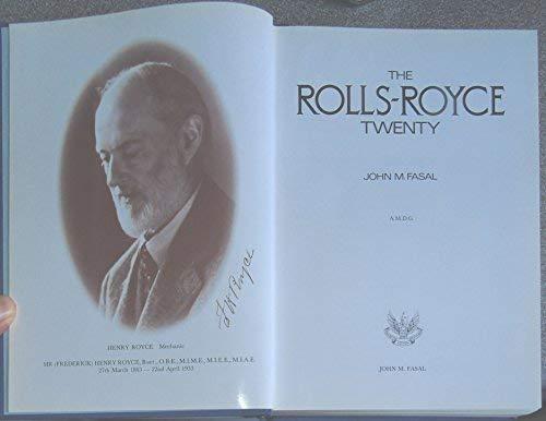9780950648903: Rolls-Royce Twenty