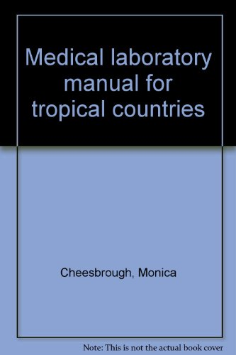 9780950743424 medical laboratory manual for tropical countries rh abebooks com medical laboratory manual for tropical countries volume 1 medical laboratory manual for tropical countries free download