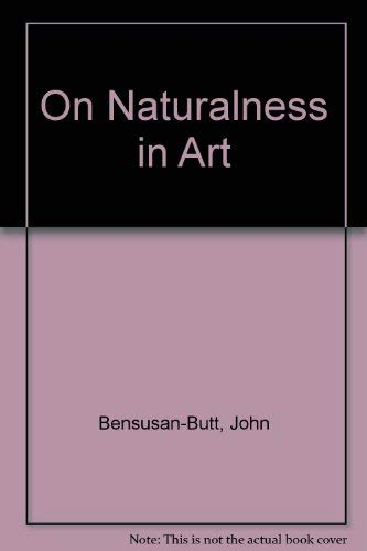 ON NATURALNESS IN ART