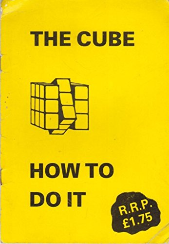 9780950770208: The cube: How to do it