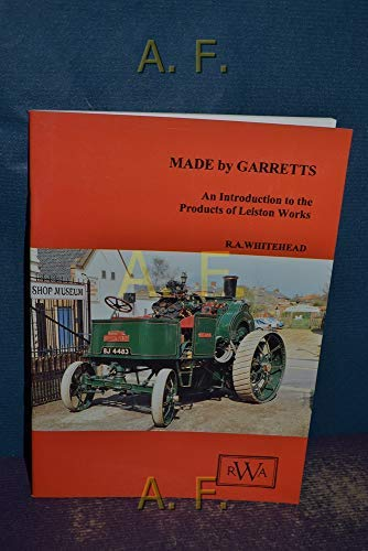 Made By Garretts : An Introduction to: WHITEHEAD R.A.