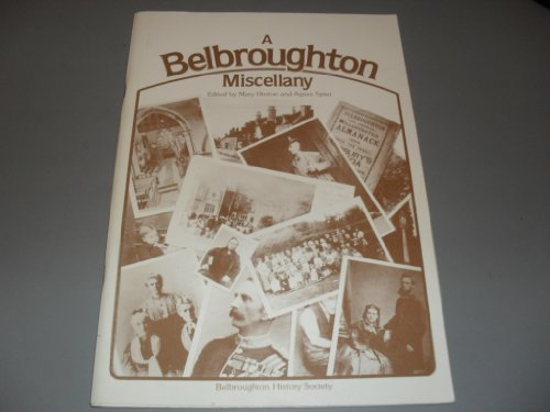Belbroughton Miscellany: Mary Hinton And Agnes Spier