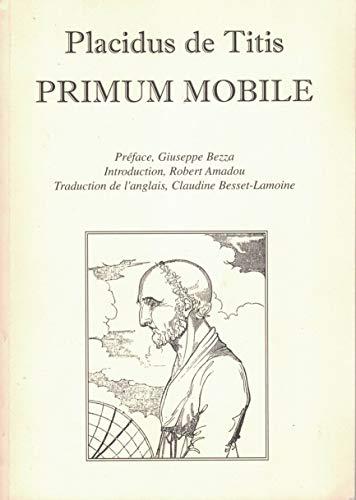 9780950841212: Primum mobile