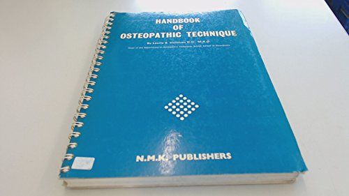 9780950902302: Handbook of Osteopathic Technique