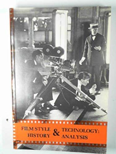 9780950906614: Film Style and Technology: History and Analysis