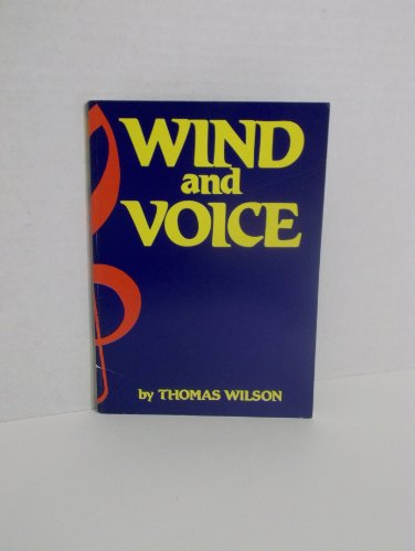 9780950940106: Wind and voice