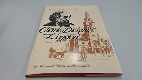9780950980201: An Illustrated Map of Charles Dickens' London 1812-1870
