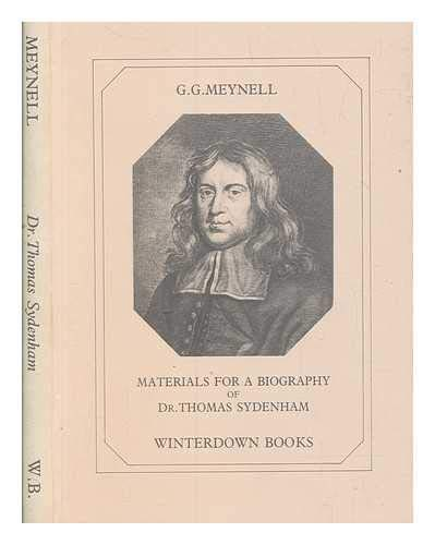 Materials for a Biography of Dr. Thomas: Meynell, G.G.