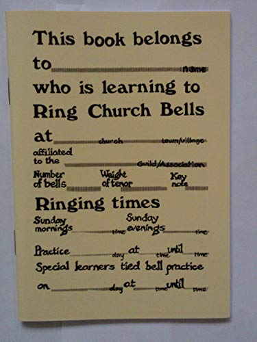 9780951122501: One-per-learner Book: For Church Bell Ringers