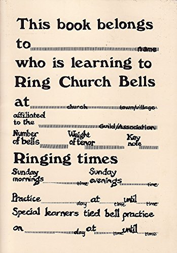 9780951122549: One-per-learner Book: For Church Bell Ringers (Sherbourne Teaching Aids)
