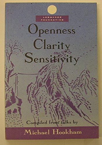 9780951147726: Openness Clarity Sensitivity