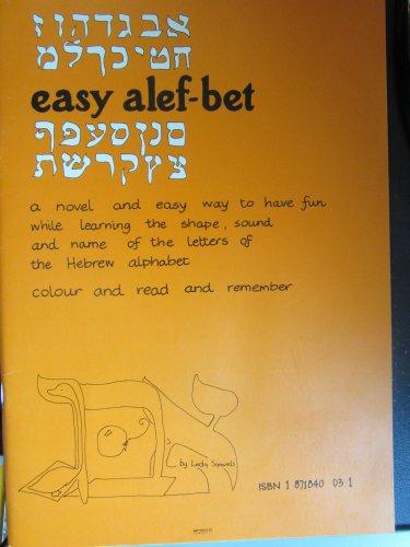 9780951175101: Easy Alef-bet