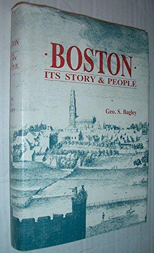 9780951178607: Boston: Its story & people