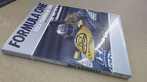 Formula One FOCA Yearbook 1987 FIA Formula: Constanduros, Bob et