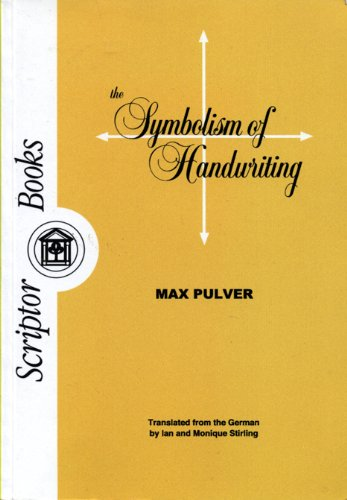 9780951370094: The Symbolism of Handwriting (Translated From the German)