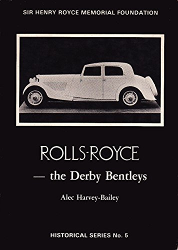 9780951439418: Rolls Royce: Derby Bentleys