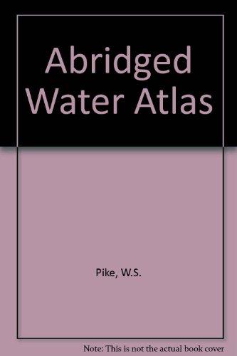 9780951463000: Abridged Water Atlas