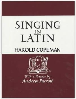 9780951579824: Singing in Latin