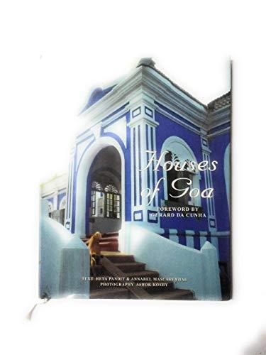9780951605523: Houses of Goa