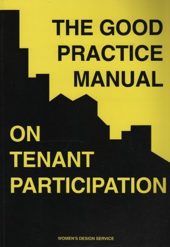 Good Practice Manual on Tenant Participation (0951616544) by Mary Kelly; Carolyn Clarke