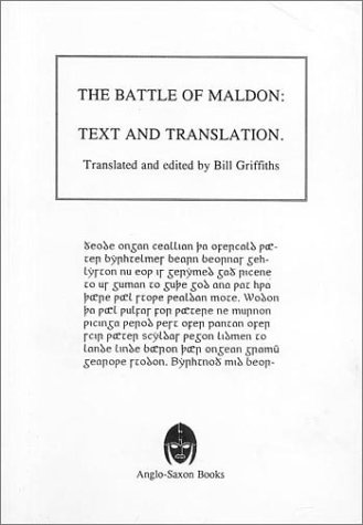 9780951620908: The Battle of Maldon: Text and Translation