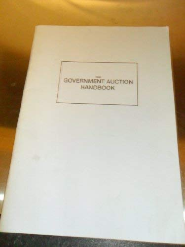 9780951632710: The Government Auction Handbook