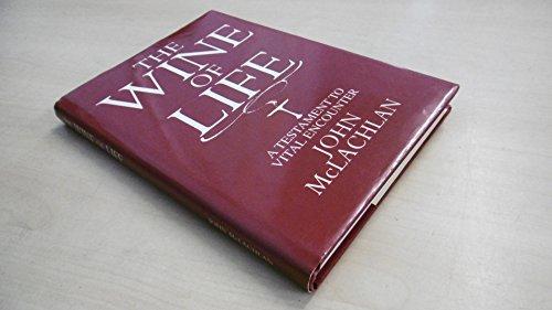 9780951691106: Wine of Life: A Testimony to Vital Encounter