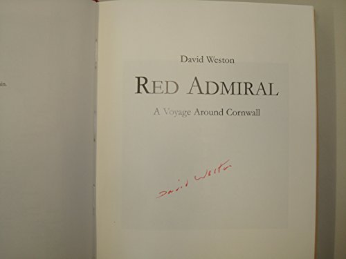 Red Admiral: A Voyage Around Cornwall (UNCOMMON HARDBACK FIRST EDITION, FIRST PRINTING SIGNED BY ...