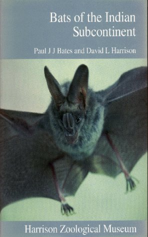 9780951731314: Bats Of The Indian Subcontinent