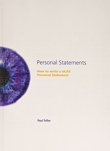 9780951928417: Personal Statements: How to Write a UCAS Personal Statement