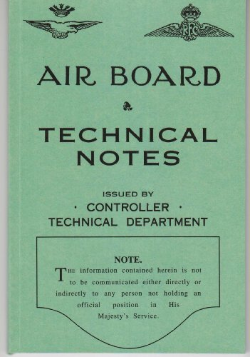 Air Board Technical Notes, Rigging of Aircraft: Air Board