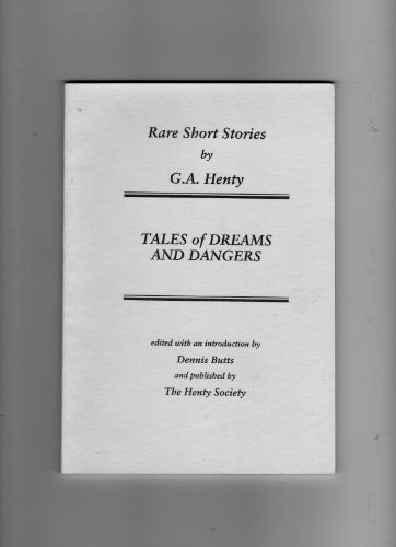 9780951955031: Tales of Dreams and Dangers