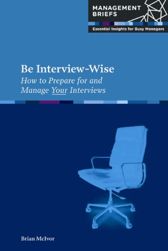 9780951973844: Be Interview-Wise (Management Briefs: Essential Insights for Busy Managers)