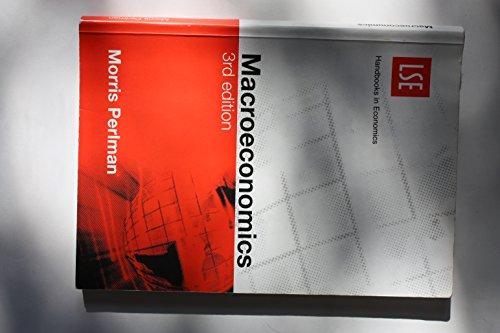 9780952066606: Macroeconomics (3rd edition)