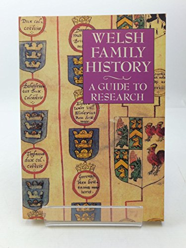 9780952072706: Welsh Family History: A Guide to Research