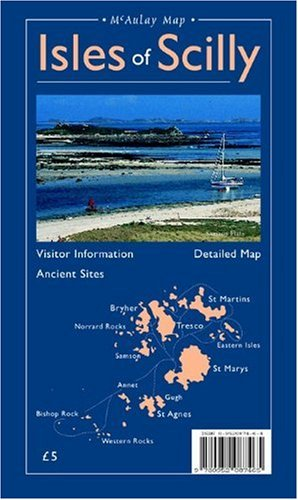 9780952087465: Map of the Isles of Scilly