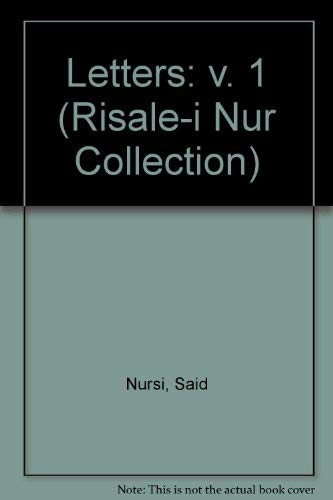 9780952149729: The Letters 1 (Risale-i Nur Collection)