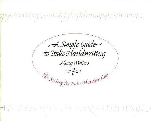 9780952151807: Simple Guide to Italic Handwriting