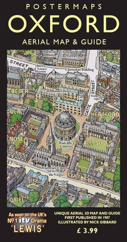 Postermaps Souvenir Map & Guide to Oxford: Nick Gibbard
