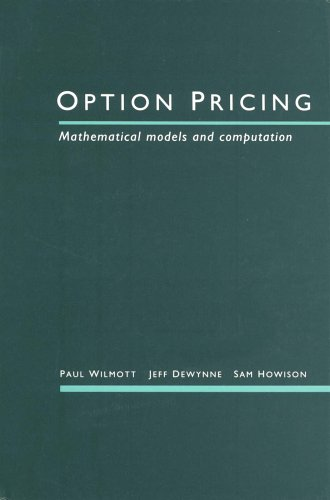 9780952208204: Option Pricing: Mathematical Models and Computation
