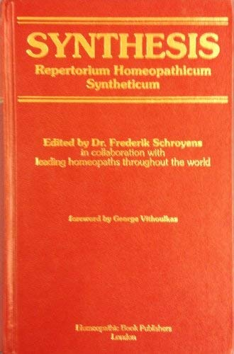 9780952274421: Synthesis: Repertorium Homeopathicum Syntheticum