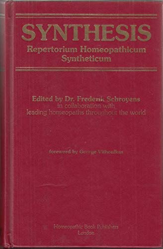 9780952274490: Synthesis: Repertorium Homeopathicum Syntheticum
