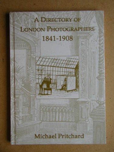 9780952301103: Directory of London Photographers, 1841-1908